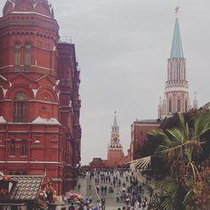 Пальмы Кремля )#москва