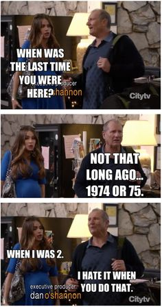 Modern Family season 4- the age difference between Gloria & Jay
