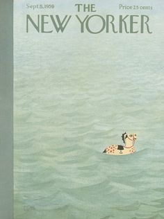 The New Yorker - Saturday, September 5, 1959 - Issue # 1803 - Vol. 35 - N° 29 - Cover by : Charles E. Martin