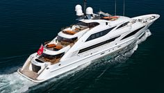 Back in July of ISA (International Shipyards Ancona) launched the aluminum and steel motor yacht Papi Du Papi, the second in a series of three new yachts under construction at… Row Row Your Boat, Row Row Row, Yacht Builders, Yacht Interior, Love Boat, Yacht Boat, Motor Yacht, Speed Boats, Jet Ski