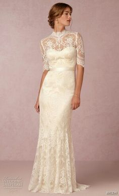 Vintage Lace Wedding Dresses From BHLDN | Vintage lace wedding ...
