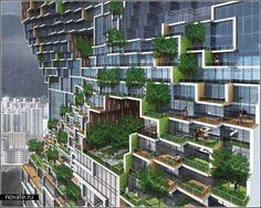 """Архитектура конца ХХ - начала XXI века В Южной Корее вскоре появится своеобразное """"гетто"""" для творческой интеллигенции. Необычное строение, фигурирующее под кодовым именем """"Танцующие квартиры"""", построит архитектурное бюро Unsangdong Architects. Ожидается, что это будет больше, чем просто небоскреб, - самый настоящий островок для дизайнеров, художников, музыкантов, поэтов, писателей...  Специфика и архитектурная особенность этого здания такова, что позволяет разделять жильцов на группы по…"""