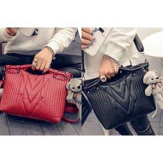 MB-B83757-IDR.171.000-MATERIAL-PU-SIZE-L31XH18XW10CM-WEIGHT-750GR-COLOR-red black (ADA-TALIPANJANG--1RUANG--ZIPPER)  #beautiful #fashion #instafashion #purse #shopping #stylish #girliaproject #girliafashionstore #tasimportmurah #tas #fashionaddict #tasfashion #grosirtasmurah #tasbatammurah #taskorea #tasbranded #tasmurmer  Belum termasuk ongkir :) Cek testi kita di @testigirlia :) Ngobrol soal produk sama admin? Bisa :D  Line@: @girliafashionstore (gunakan @ didepan) CS1 : D0D1B201 / WA…