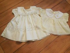 LOT Qty 2 Size 0-6 months Vintage Infant Baby Girl by LittleMarin