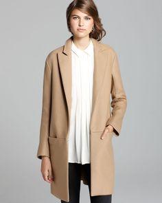 Theory Long Coat - Elibeth Roanoke