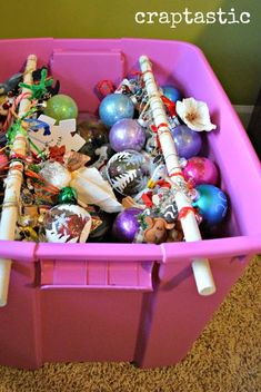 These Christmas Decoration Storage Hacks Are a Game-Changer hanging christmas s. These Christmas Decoration Storage Hacks Are a Game-Changer hanging christmas storage organization Christmas Ornament Storage, Holiday Storage, Christmas Ornaments To Make, Hanging Ornaments, Christmas Crafts, Christmas Decorations, Diy Ornament Storage, Christmas Time, Christmas Ideas