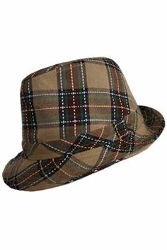 Big bold tartan plaid print makes this hat a must have. Dress it up or 7ae8b7841e