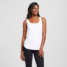 Maidenform Self Expressions Women's Undercover Slimming Tank White Xxl