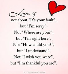 What Love Is Really ANout