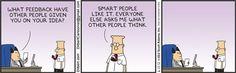 Dilbert-smart and everyone else