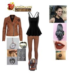 Deanna Winchester-Daughter of Dean Winchester Disney Character Outfits, Disney Themed Outfits, Disney Inspired Fashion, Character Inspired Outfits, Supernatural Inspired Outfits, Fandom Fashion, Fandom Outfits, Cosplay Outfits, Cute Casual Outfits