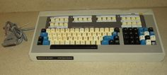 Perkin Elmer 3700 Data Station Vintage Keyboard