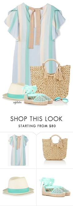 """Pastel Summer"" by angkclaxton ❤ liked on Polyvore featuring MANGO, Barneys New York, rag & bone, Oscar de la Renta and Ray-Ban"