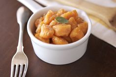 Whole Wheat Pumpkin Gnocchi, but I need to find a different sauce with no ginger.