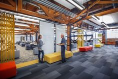 1940's Allis Chalmers manufacturing plant renovation by Eppstein Uhen Architects