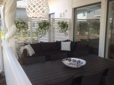 Kaunis katettu terassi
