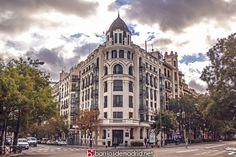 Palacio de Luchana  Una joya arquitectónica del Barrio de Chamberí. Un edificio neoclásico que data de principios del s. XX, ¿Cuál es vuestro lugar favorito de Chamberí? © www.barriosdemadrid.net #Chamberí #Madrid