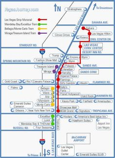 Avoid The Traffic Las Vegas Monorail Vegas Baby Pinterest