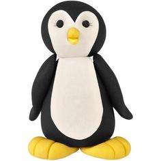 Our penguin edible topper will waddle into the hearts of all your family and friends as he perches a top a cake or treat. With The Wilton Method of 3-D Character Modeling online instructions, create a rookery of penguins.