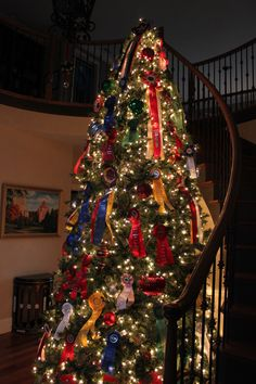 Horse Show Ribbon Tree - @Mallory Puentes Puentes Puentes Puentes Williams-Bley Handler Interior Design!!!!!
