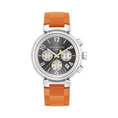 http://www.louisvuitton.com/front/#/eng_US/Collections/Men/Watches/products/Tambour-automatic-chronograph-grey-dial-rubber-strap-Q11200