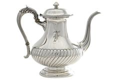 1950's Sterling Silver Coffee Pot