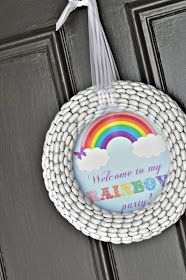 Craftily Ever After: Annalise's Rainbow Birthday Party