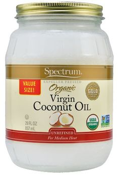 Coconut oil can be used as a make up remover, hair conditioner and lotion. It is also a healthier alternative to vegetable oil when baking. Buying a large jar of organic coconut oil like this lasts a long time and costs $16. Additionally, this coconut oil is certified organic, indicating a lesser environmental impact.