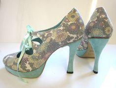 Image of Bespoke Peony Shoe