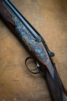 woodburning:  Boss & Co. Over and Under (Via Westley Richards)