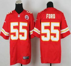 Nike Kansas City Chiefs Jersey #55 Dee Ford Red Elite Jerseys