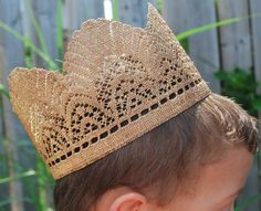 Handmade Crown  FREE SHIPPING by RecreatingVintage on Etsy, $35.00