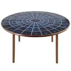 A Bjorn Wiinblad Dining Table | From a unique collection of antique and modern dining room tables at http://www.1stdibs.com/furniture/tables/dining-room-tables/