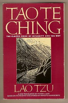 Tao Te Ching...love that I could find it in CD...love to listen as I fall asleep....
