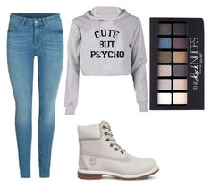 Casual Cool by mdomo on Polyvore featuring polyvore fashion style Timberland Maybelline clothing