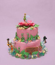 fairy cakes   Fairy Birthday Cake