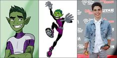 Cameron Boyce as Beast Boy.