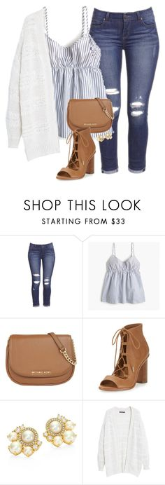 """""""Liven on a prayer!! 🎶"""" by amberfmillard-1 ❤ liked on Polyvore featuring J.Crew, MICHAEL Michael Kors, Joie, Kate Spade and Violeta by Mango"""