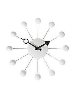 Newgate Cream orbital clock #white #newgate #clock