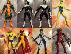 Avengers: Jocasta, Pulsar (classic & modern), Quasar (classic & modern), Squirrel girl, Starfox, Wonder man (70s original red & green outfit), Wonder man (80s classic red jacket), Yondo the Hunter. MARVEL LEGENDS Custom SQUIRREL GIRL. | eBay!