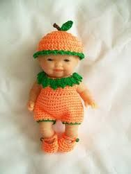 Resultado de imagen para berenguer baby dolls crochet outfits