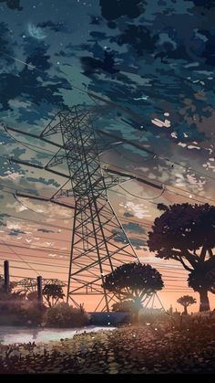 Awesome Anime Scenery iPhone Wallpapers - WallpaperAccess