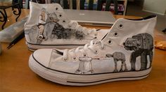 52f8b1c1e9f0 Custom printed shoes. I need to do this... Converse All Star