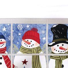 St. Nicholas Square® Faux-Applique Window Snowmen Placemat | Kohls Winter Snow, Placemat, Kohls, Snowmen, Applique, Joy, Windows, Upper Body, Canvas