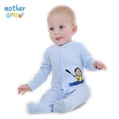Aliexpress Retail New Fashion Baby Romper Clothing Body Suit Newborn Long Sleeve Kids Boys Girls Rompers Baby Clothes Roupa Infantil