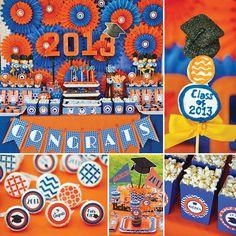 {Congrats 2013} Graduation Party Ideas by Crissy's Crafts and Amanda's Parties To Go! #Congrats #Graduation #Graduate #Diploma #2013