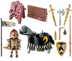 Playmobil Knights - Wild Horse Tournament Knight by Playmobil - $12.95