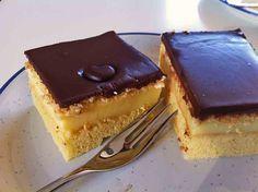 Schoko-Pudding-Kuchen vom Blech - durch den Rührteig wird der Kuchen nicht matschig - lecker