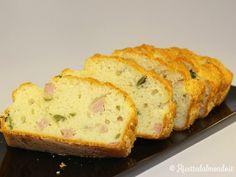 Plumcake salato con Prosciutto e Olive