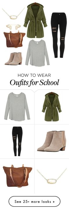 """Casual School Girl"" by meganmcphilimy on Polyvore featuring Michael Kors, Golden Goose and Kendra Scott"